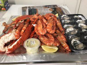 seafood trays